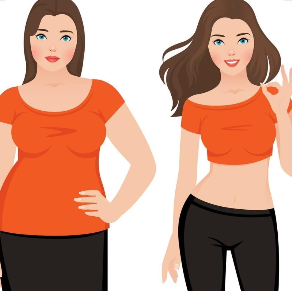 کم کردن وزن به صورت تدریجی