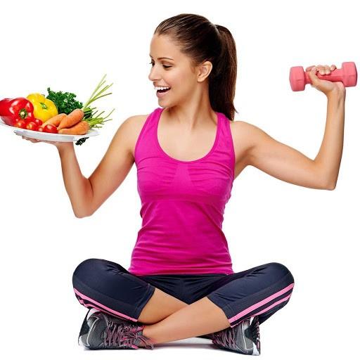 ورزش و رژیم غذایی مناسب در کنار یکدیگر