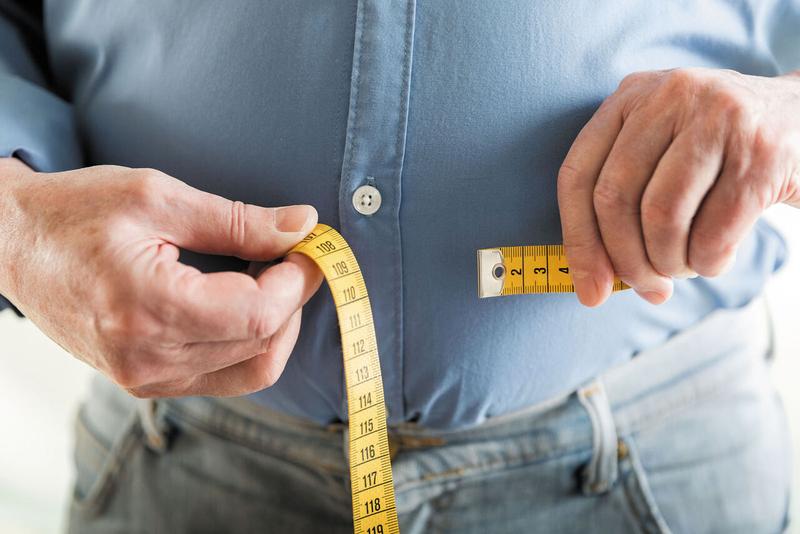 کم کردن یک سوم وزن بعد از حدود دو تا سه ماه