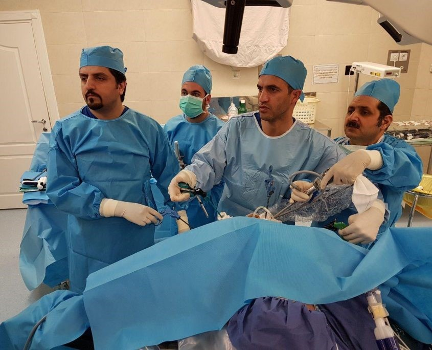 انتقال بیمار به اتاق ریکاوری