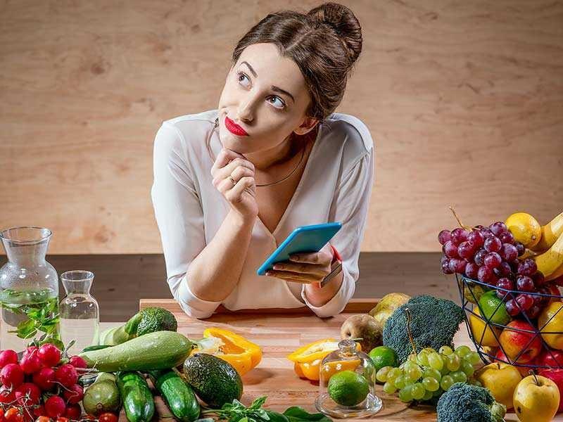 مصرف آب در بین غذا