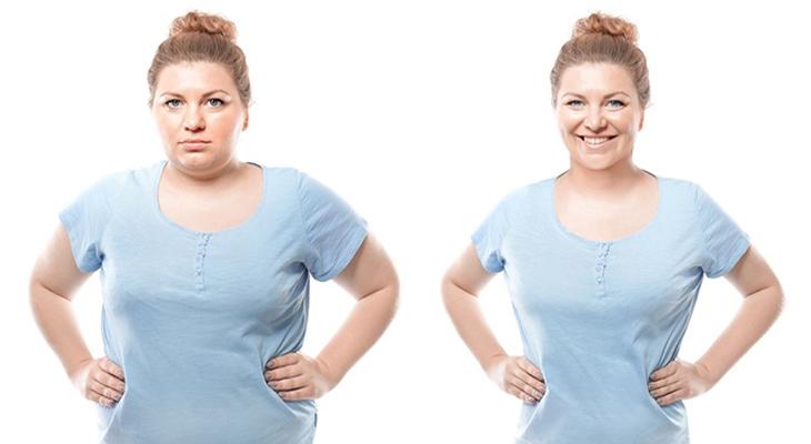 مرحله چهارم رسیدن به هدف بیمار به جهت کم کردن وزن