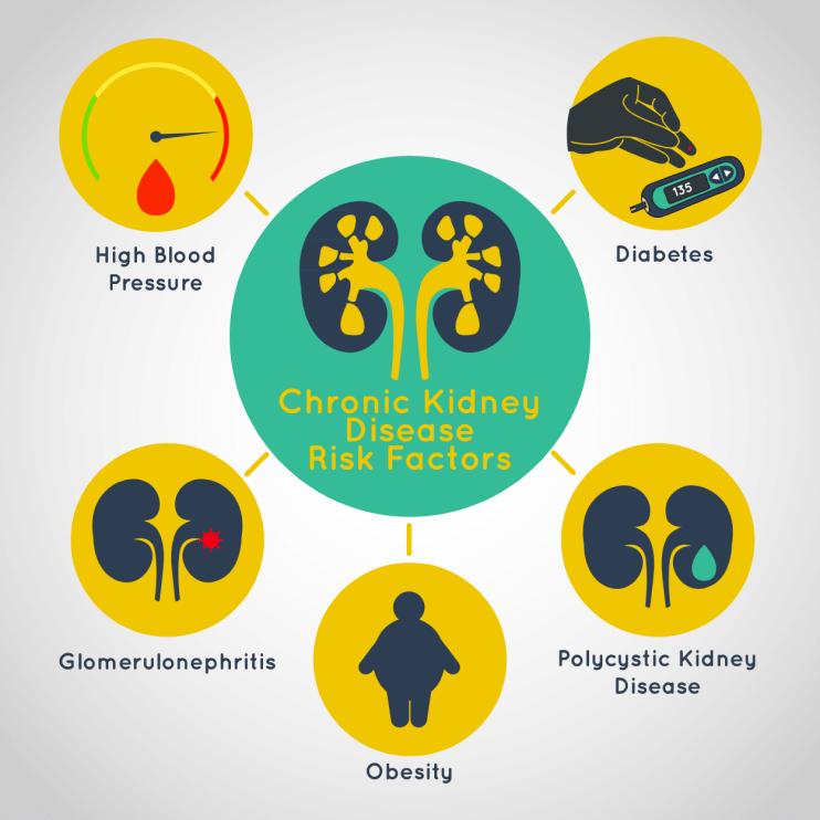 ناتوانی در دفع مواد زائد خون در افراد مبتلا به دیابت