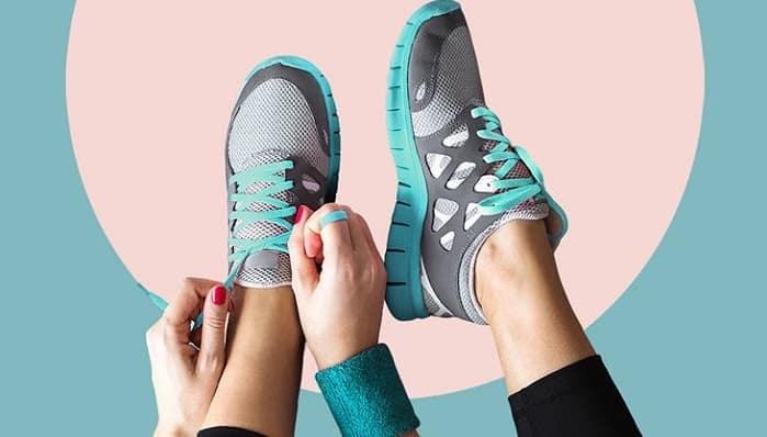 استفاده از کفش مناسب