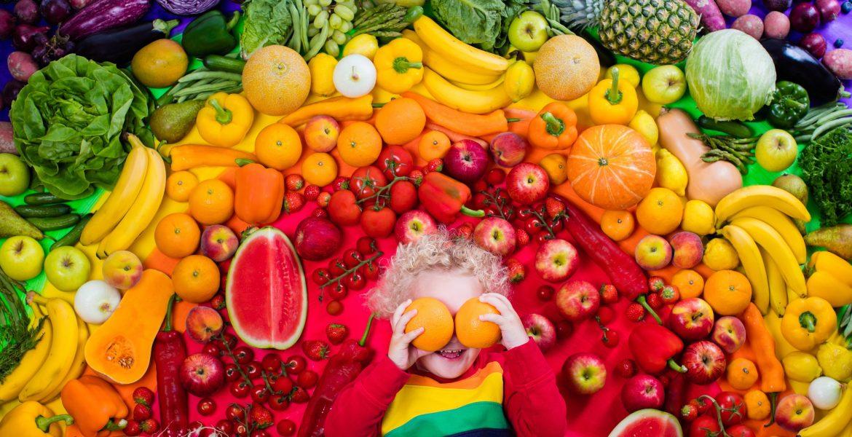 سبزیجات و میوه تازه: