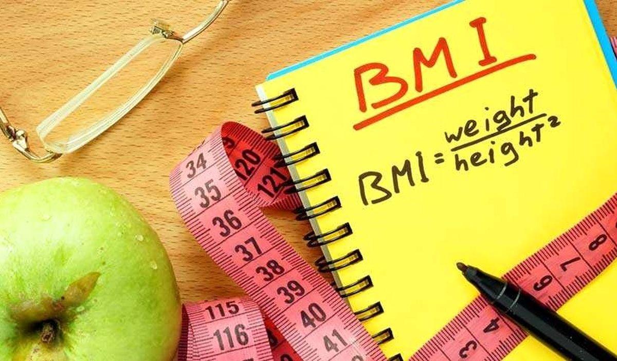 افرادی که شاخصه BMI بالای 25 دارند: